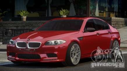 BMW M5 F10 GS V1.1 для GTA 4