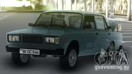 ВАЗ 2107 Арбузовоз для GTA San Andreas
