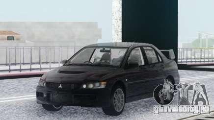 Mitsubishi Lancer Evolution IX MR Stock для GTA San Andreas