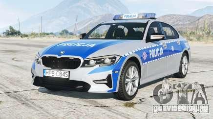 BMW 320i (G20) 2019〡Polish Police [ELS] add-on для GTA 5