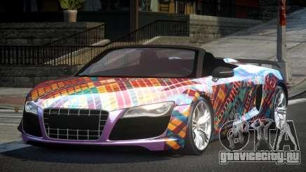 Audi R8 SP Roadster PJ2 для GTA 4