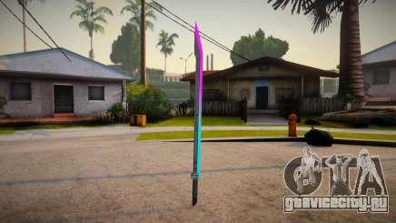 Katana Neon Marck_delta для GTA San Andreas