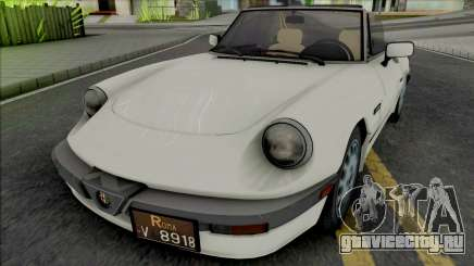 Alfa Romeo Spider Quadrifoglio для GTA San Andreas