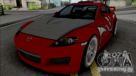 Mazda RX-8 Mia Townsend для GTA San Andreas