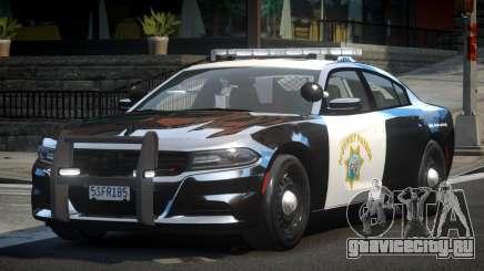 2015 Dodge Charger CHP для GTA 4