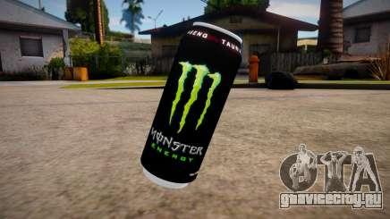 Monster Energy Grenade mod для GTA San Andreas