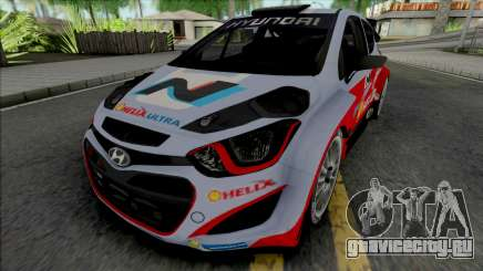Hyundai i20 WRC для GTA San Andreas