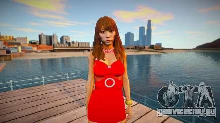 Saki from Yakuza 6 для GTA San Andreas