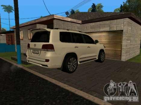 Toyota Land Cruiser 200 18 v0.1 для GTA San Andreas