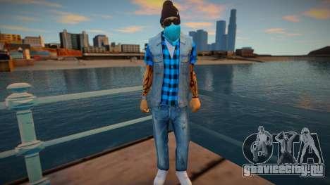 Street thug jeans vest для GTA San Andreas