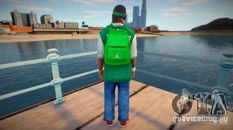 New fam3 backpack для GTA San Andreas