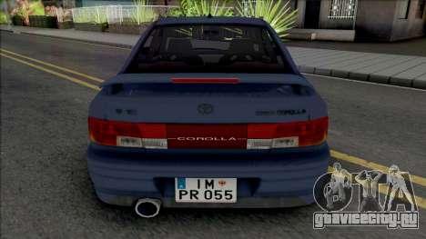 Toyota Corolla AE100 [IVF] для GTA San Andreas