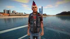 Панк vwmycr для GTA San Andreas