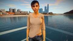 Claire Redfield normal для GTA San Andreas