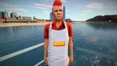 Продавец хот-догов omonood для GTA San Andreas