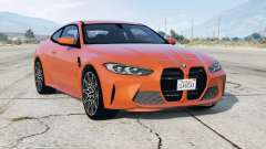 BMW M4 Competition (G82) 2020 v2.0 для GTA 5