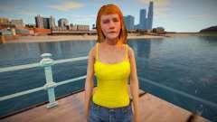 Peters girlfriend для GTA San Andreas