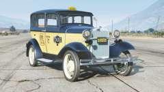 Ford Model A Town Sedan 1931〡Taxi〡add-on v0.3 для GTA 5