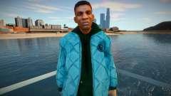 Афроамериканец в куртке для GTA San Andreas