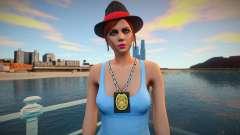 Девушка полицейский в стиле GTA 5 для GTA San Andreas