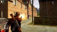 One Handed Weapon Animation Mod для GTA 4