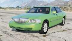 Lincoln Town Car Signature Limited 2010 v1.1 для GTA 5