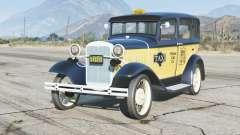 Ford Model A Town Sedan 1931〡Taxi〡add-on для GTA 5