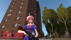 Yuno Gasai (Mirai Nikki) для GTA 4