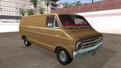 Dodge Tradesman 200 1972 Van Chassi Longo