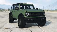 Ford Bronco 4-door Wildtrack 2021 для GTA 5