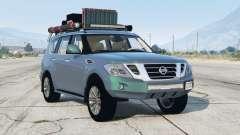 Nissan Patrol (Y62) 2014〡off-road〡add-on для GTA 5