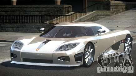 Koenigsegg CCX GST-R для GTA 4