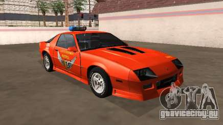 Chevrolet Camaro IROC-Z 1990 Ohio Highway State для GTA San Andreas