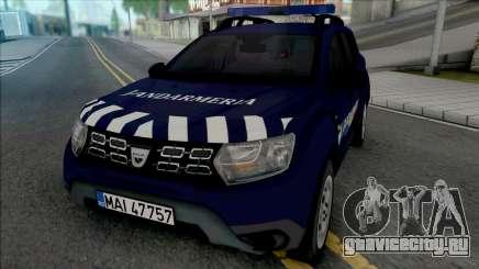 Dacia Duster Jandarmeria для GTA San Andreas