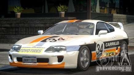 Toyota Supra GST Drift S4 для GTA 4