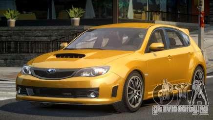 Subaru Impreza BS-U для GTA 4