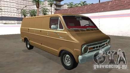 Dodge Tradesman 200 1972 Van Chassi Longo для GTA San Andreas