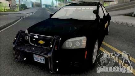 Chevrolet Caprice 2013 Sheriff Police для GTA San Andreas