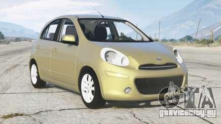 Nissan March (K13) 2011 для GTA 5