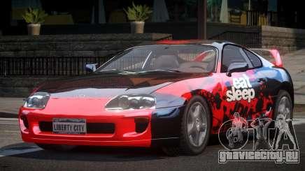 Toyota Supra GST Drift S10 для GTA 4