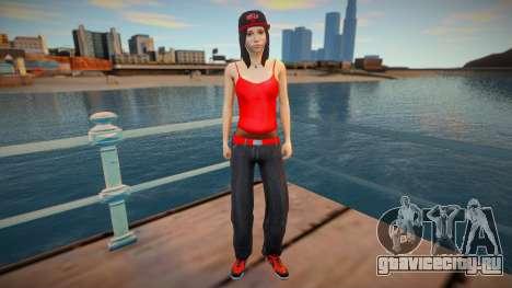 New nurgrl3 red version для GTA San Andreas