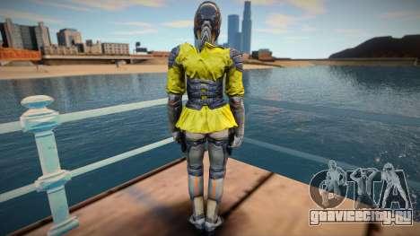 Dancer From Shadowgun: Deadzone для GTA San Andreas