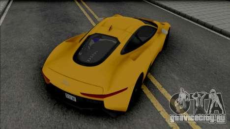 Jaguar C-X75 (SA Light) для GTA San Andreas
