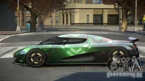 Koenigsegg Agera US S5 для GTA 4