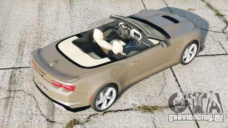 Chevrolet Camaro SS Convertible 2020〡add-on