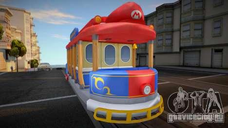 Mario Kart 8 Tram M для GTA San Andreas
