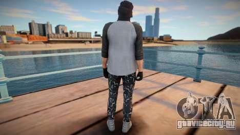 Чувак в вязаной маске из GTA Online для GTA San Andreas