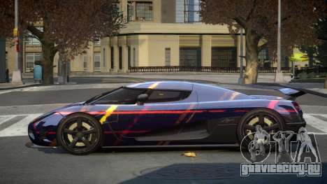 Koenigsegg Agera US S3 для GTA 4
