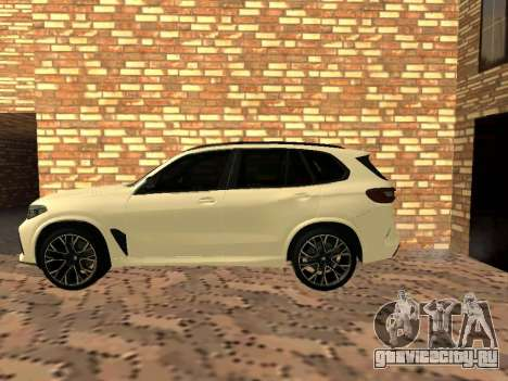 BMW X5M F95 White Plates для GTA San Andreas