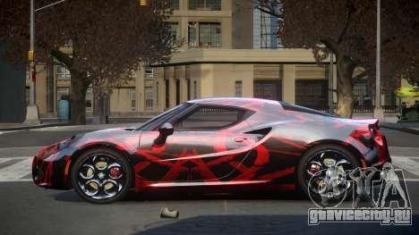 Alfa Romeo 4C U-Style S5 для GTA 4